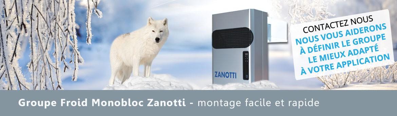 Monobloc frigorifique Zanotti